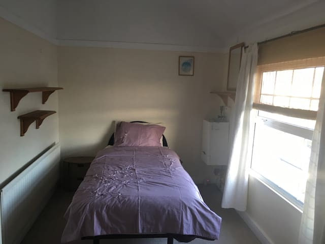 Single room in cosy 2 bed house