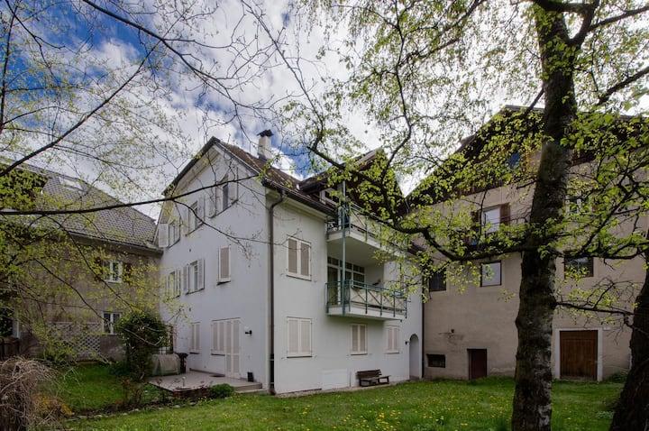 Apt. 90m² Bruneck Center 4/5 people
