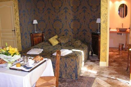 Chambre d'hôte de charme au Château - Gizeux
