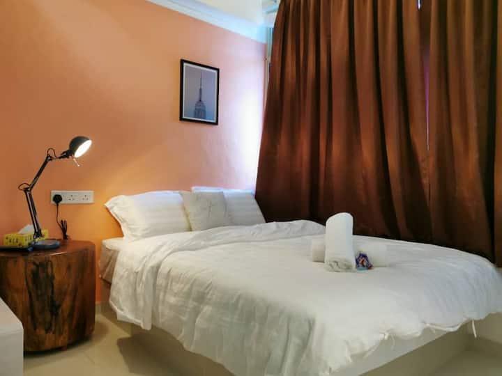 Sentosa GuestHouse @ Bukit Mertajam - Deluxe Queen