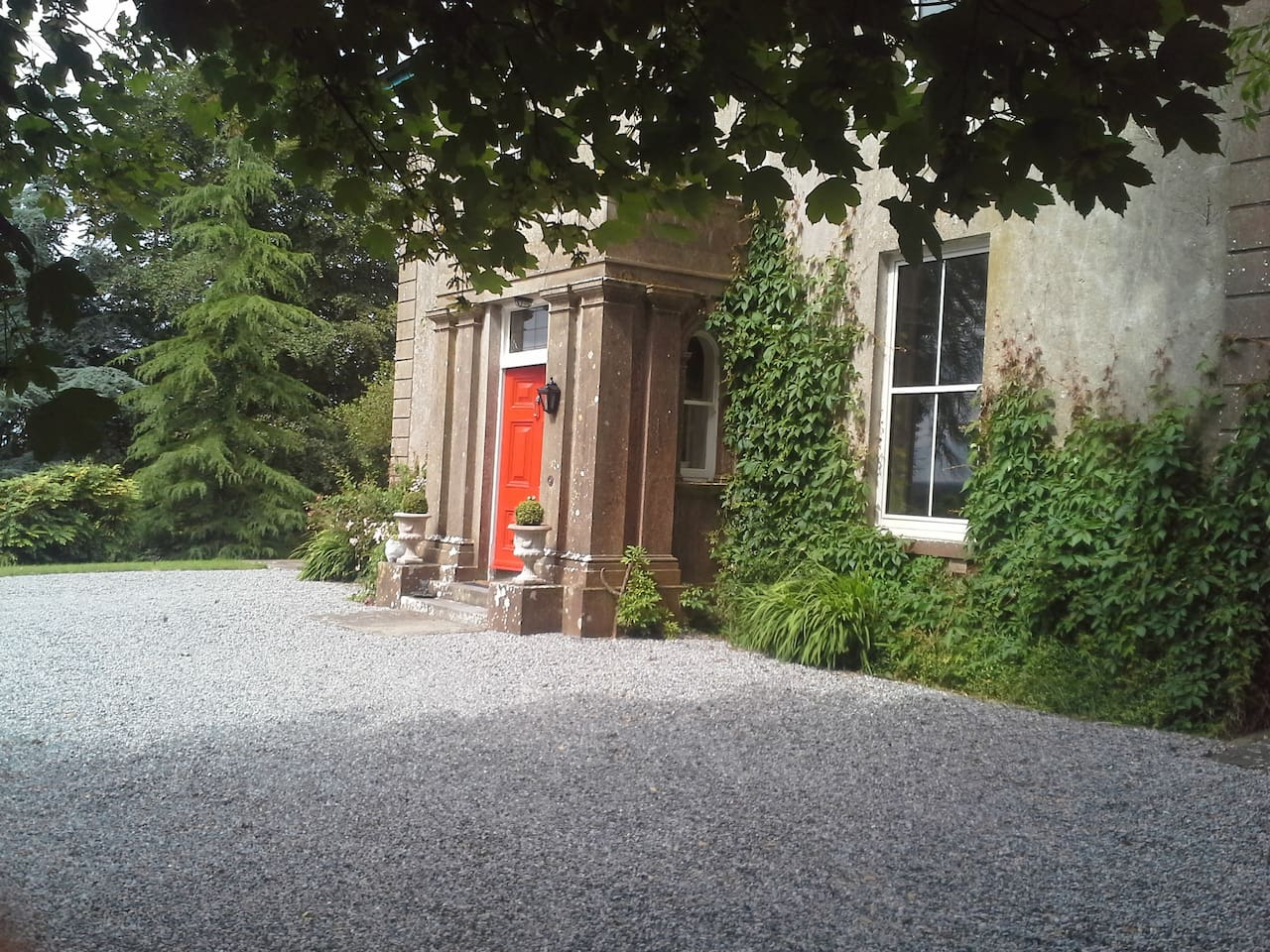 Glebe House Entrance