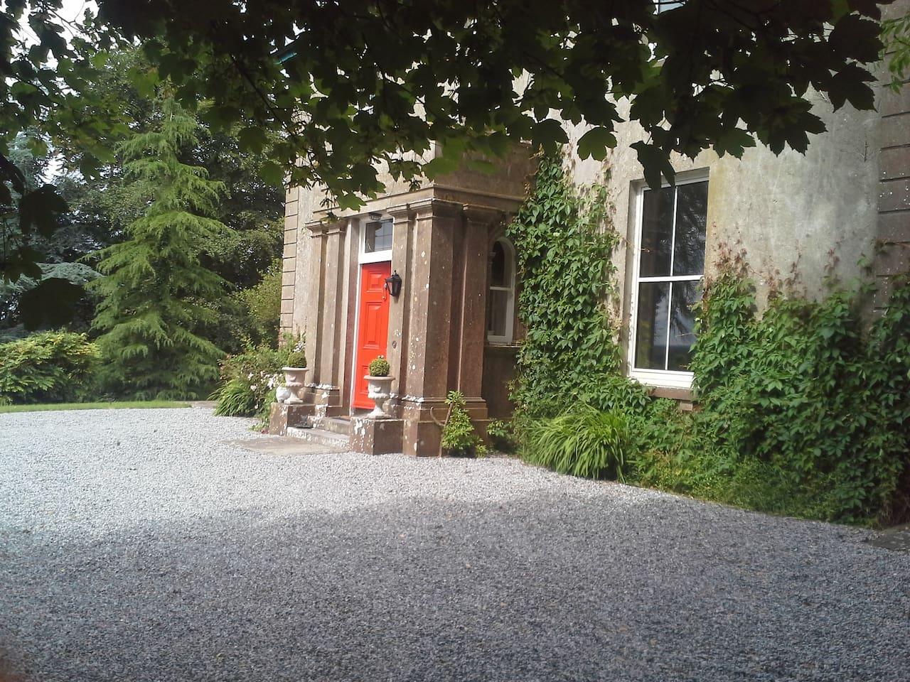 Glebe House Entrance