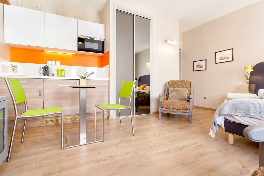 Studio de charme lyon centre appartements louer lyon for Appartement meuble a louer lyon