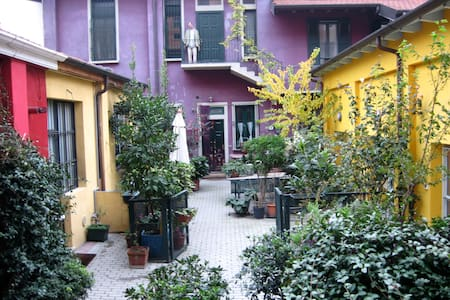An oasis in the green but in Milan!