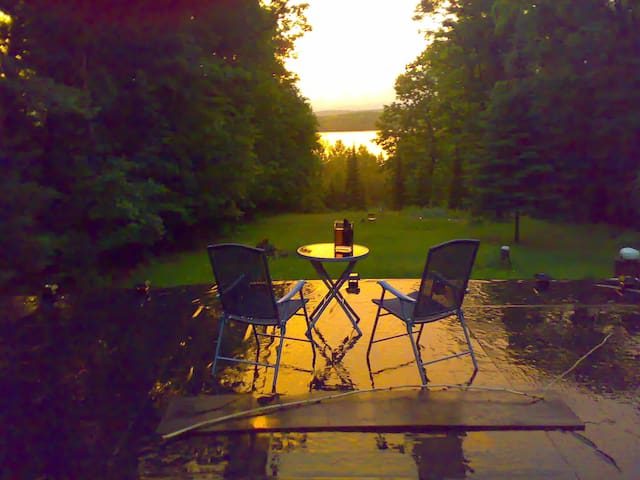 """room with a view/autumn splendour"" - Huntsville - Mökki"