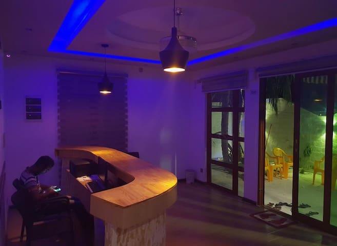 Palm Rest Guesthouse. A wonderful Honeymoon spot.