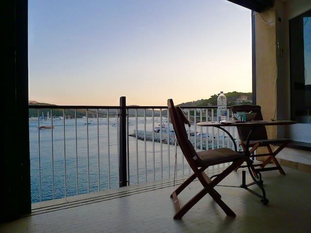 Balkon zum Meer