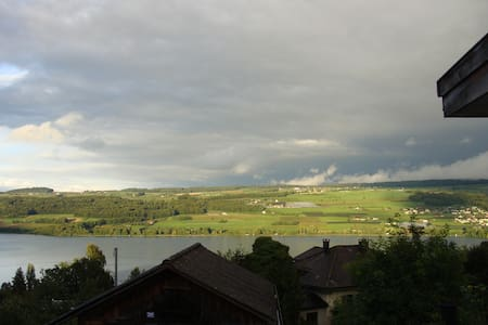 Apartment in Beinwil am See mit Seeblick - Beinwil am See