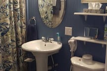 Private Full Bath with walk-in shower