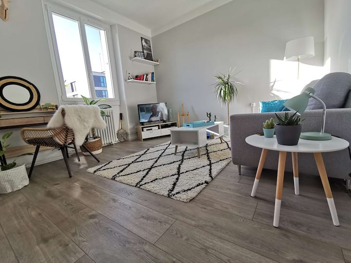 Appartement cosy et équipé - Dijon Centre