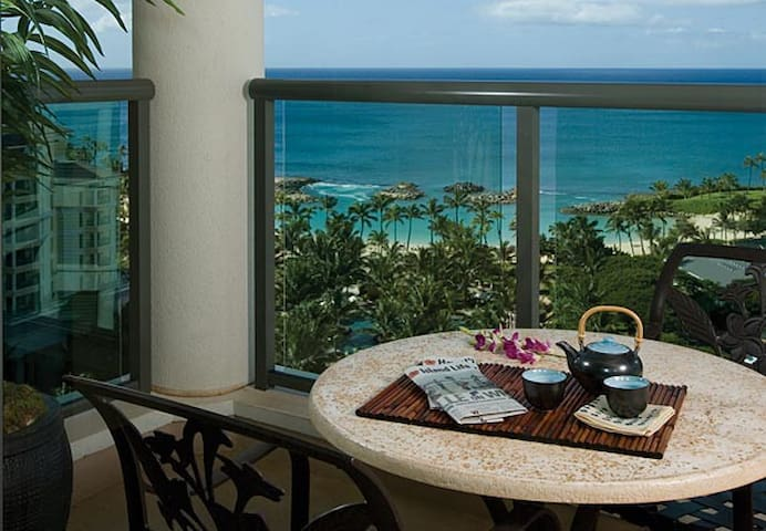Wonderful Ocean View Studio in Ko Olina Beach Club - Kapolei - Apartemen