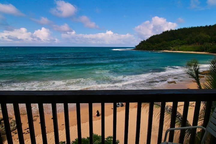 Spectacular Moloa'a Bay on the Beach