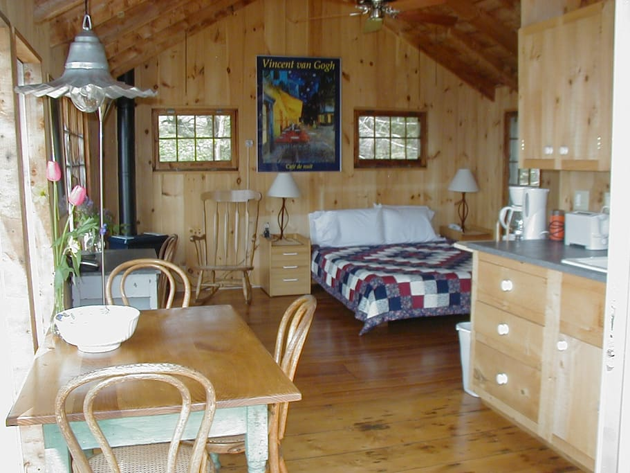 beautiful one room (studio) cabin