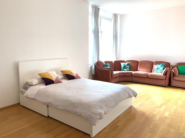 Big private room in Friedricshain, Berlin
