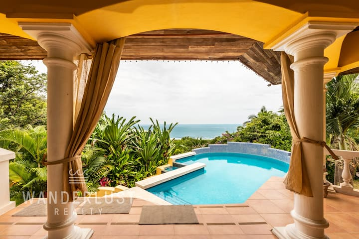 Luxury Villa with amazing Beach and Surf views
