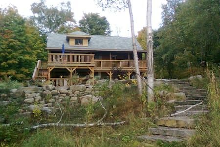 Modernized Wooden Cottage - 班克罗夫特(Bancroft) - 小木屋