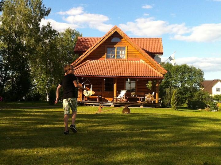 DvīņuMājas - a cottage