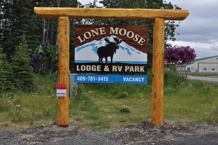 Alaskan Kenai Fishing RV spot # 1A   full hookups