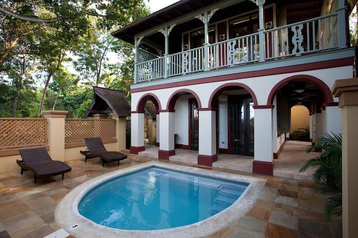 Romantic 1 Bedroom Villa with Dip Pool! Calabash