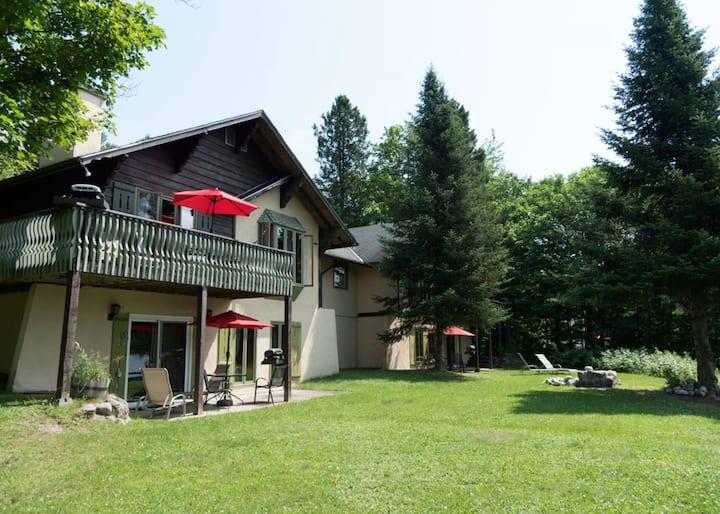 Chalet romantique avec sauna et vue sur le lac(64)
