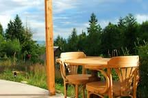 The deckinette - covered outdoor space