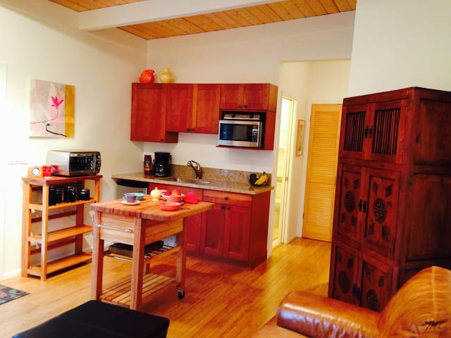 Ginger Garden Hale: Large 1 Br, 2 Bath Apartment - Kamuela - Wohnung