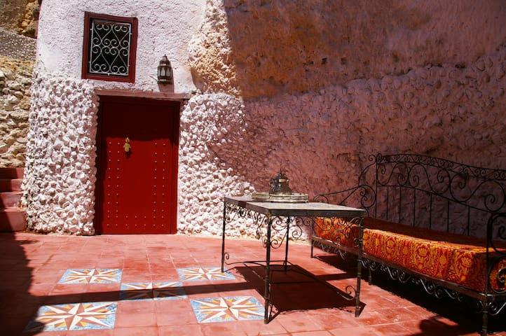 Cave dwelling in fès in Morocco - البهاليل