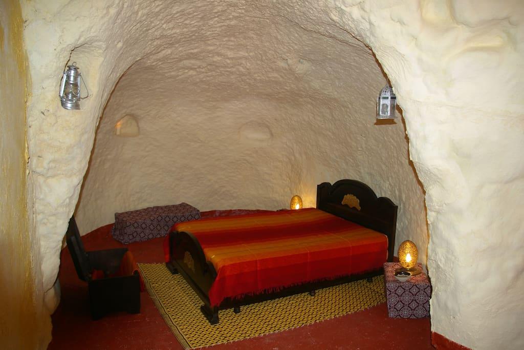 Maison troglodyte f s au maroc chambres d 39 h tes - Chambre d hote troglodyte tours ...