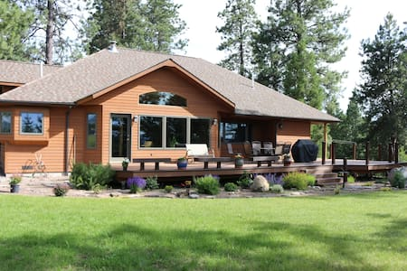 Glacier Park & Whitefish MTN Resort - 콜럼비아 폴스(Columbia Falls) - 단독주택
