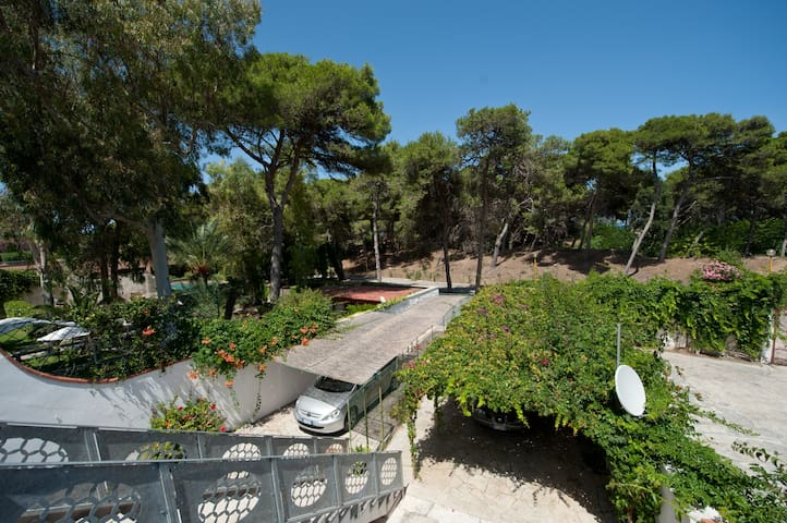 Overlooking the pine forest 20m sea - Melendugno - Apartment