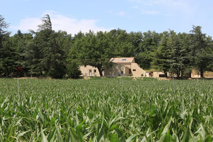 Gîte Les Ayasses proche Crest - Vaunaveys-la-Rochette - Hus