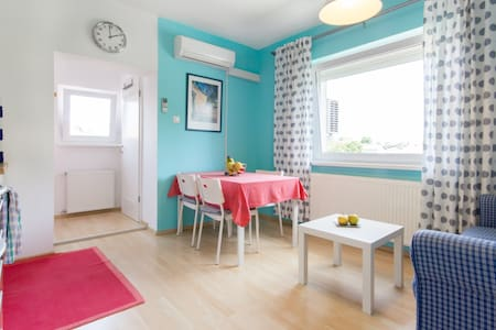 Welcome to my cosy, bright and lovely apartment! It is fully furnished, and is perfect for one or two people. Away from city noises, the fully furnished apartment allows you to relax and enjoy your time in beautiful Ljubljana.