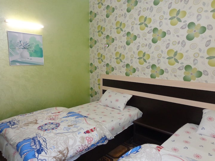 квартира с двумя спальнями