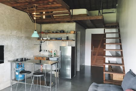 Tiny house style, 300m walk to the beach (#1) - Kuta Utara