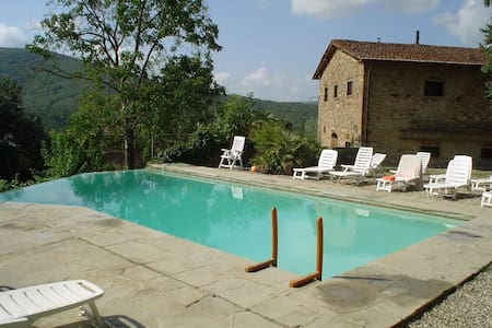 Country House with pool in Tuscany - Pieve A Presciano - Hus