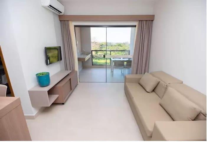 Apto 2 quartos no Alta Vista Thermas Resort
