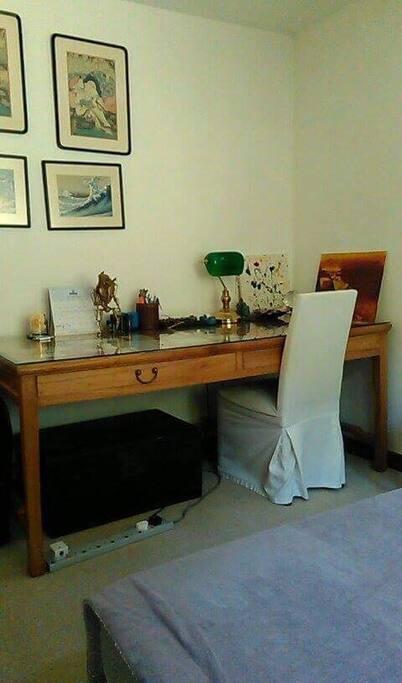 Spacious study desk