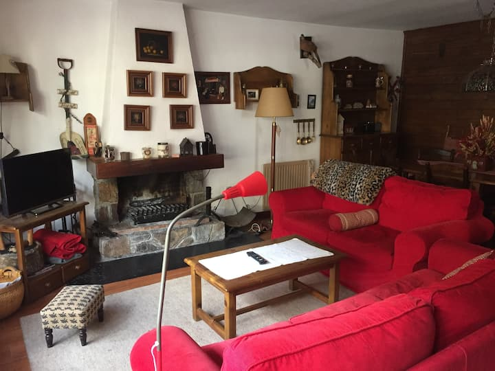 Típica casa aranesa- Baqueira Beret