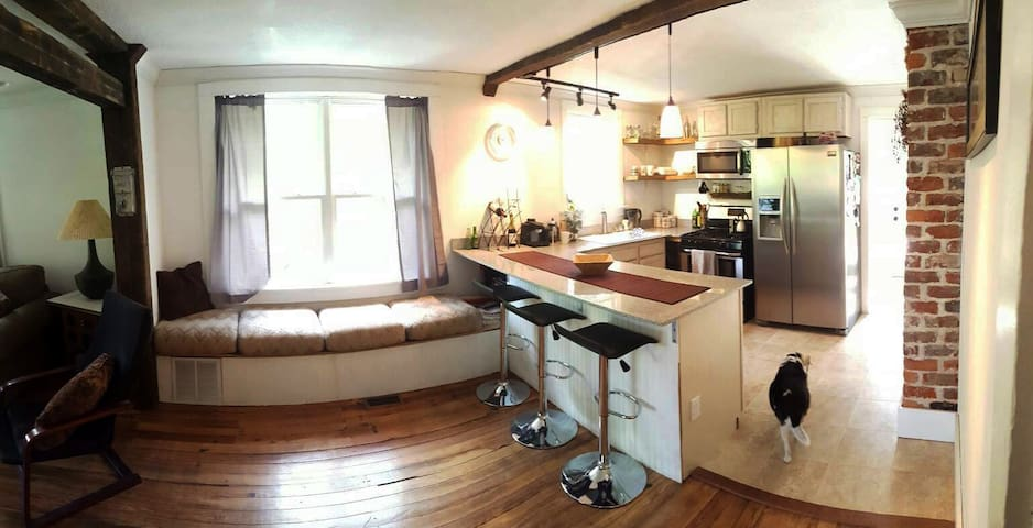 Upcycled Bungalow - Heart of West Asheville!