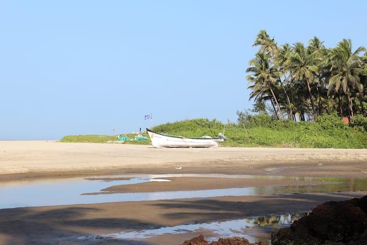 Oceania a Home Away from Home at Ashvem Beach