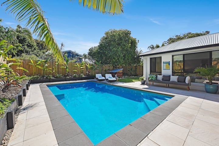 Pacific Palms with Private Pool & Walk to Beach