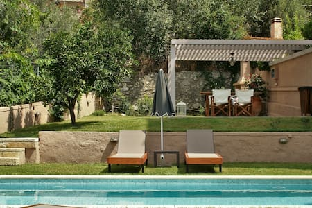 Private Villa + Pool +All Amenities - Spili - Ev