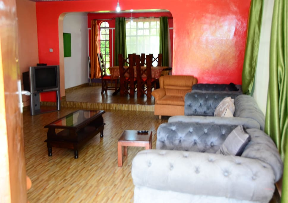 The living room with Sofas