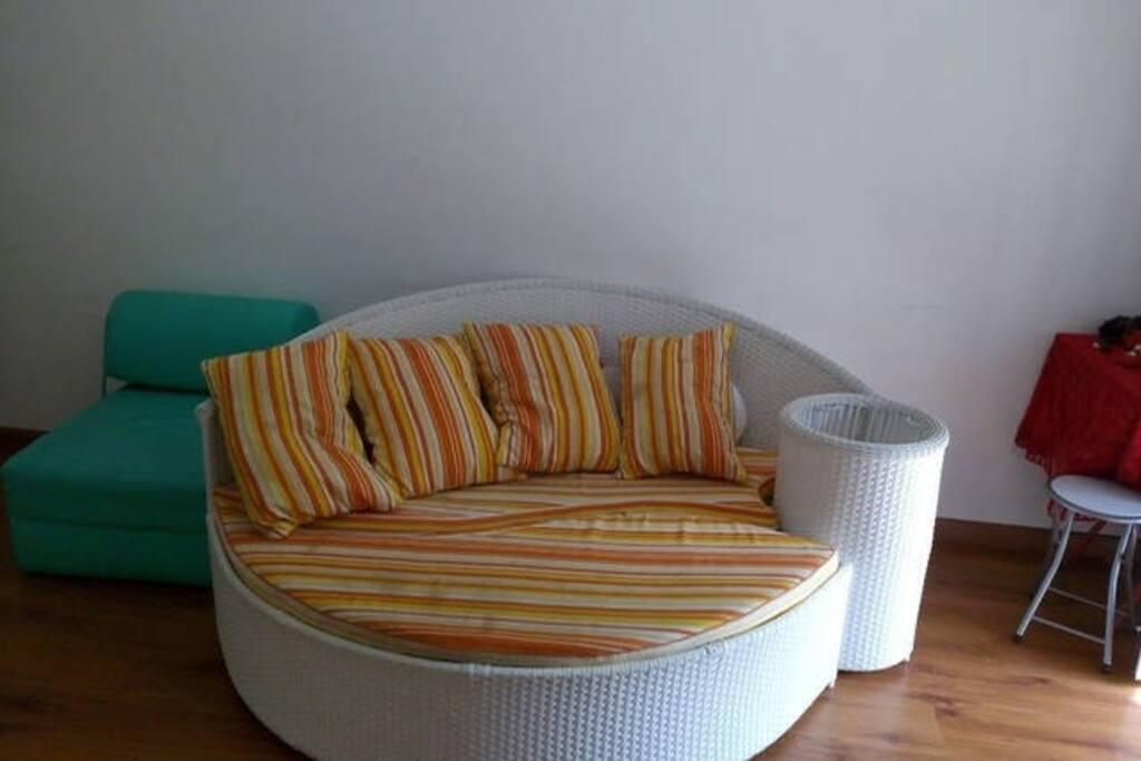 sofa jardim /sala