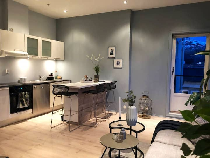 Airy penthouse in the very heart of Bergen city!