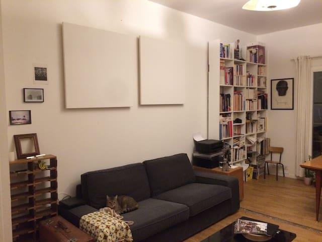 Appartement Pantin - 4 chemins avec petit jardin