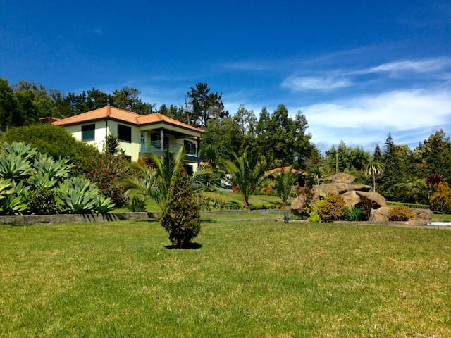 Madeira Holiday Villa  -  Nature Haven