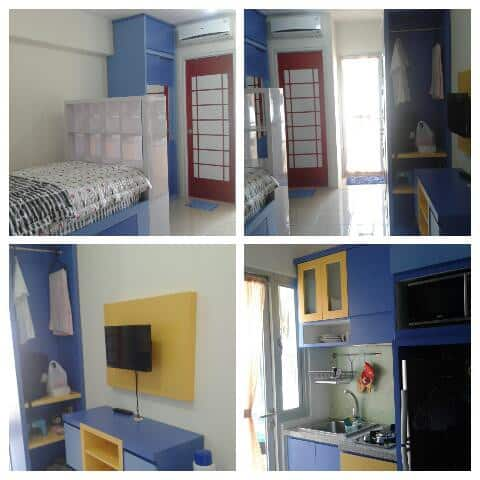 Studio apartment in Pakuwon City