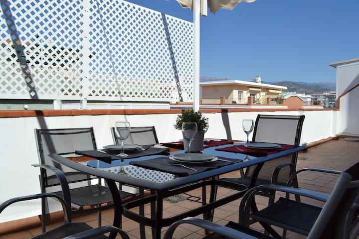 Ático & Terraza en pleno centro de Torre del Mar