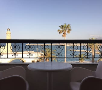 Double Room with Marina View - Rethymno - Oda + Kahvaltı